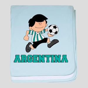 Argentina Football (Soccer) baby blanket