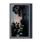 Dawn on Lava Lamp Swamp Mini Poster Print