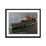 USS HUNLEY Framed Panel Print
