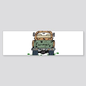 Farm Truck Bumper Sticker