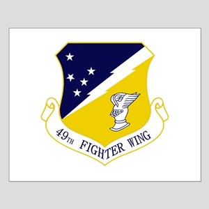 49th Fighter Wing Small Poster