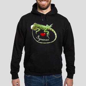 Love Iguanas Hoodie (dark)