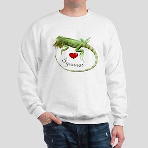 Love Iguanas Sweatshirt