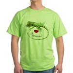 Love Iguanas Green T-Shirt