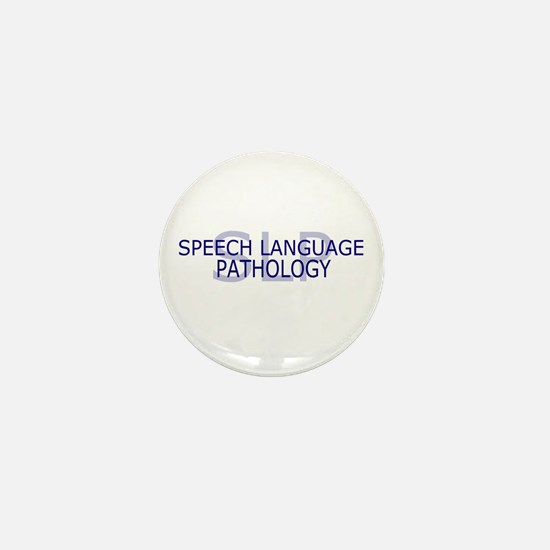 SLP Speech Language - Mini Button