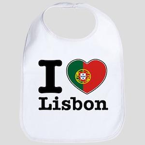I love Lisbon Bib