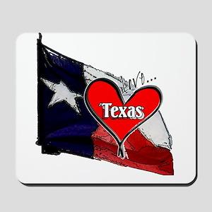 Love Texas II Mousepad