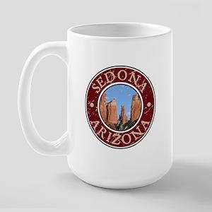 Sedona, AZ - Catherdal Large Mug