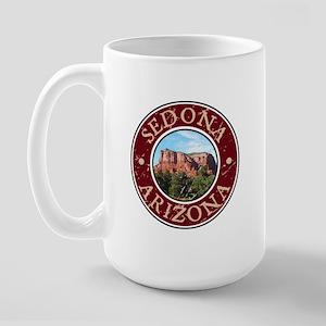 Sedona, AZ - Castle Rock Large Mug