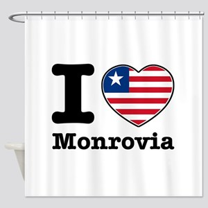 I love Monrovia Shower Curtain