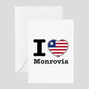 I love Monrovia Greeting Card