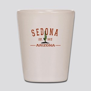 Sedona, AZ - Athletic Shot Glass