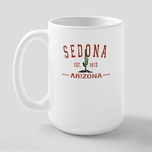 Sedona, Az - Athletic Large Mug Mugs