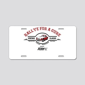 Rally for a Cure Aluminum License Plate