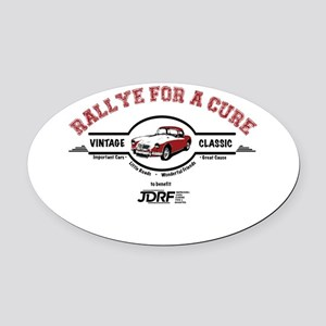Rally for a Cure Oval Car Magnet
