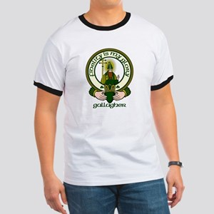 Gallagher Clan Motto Ringer T