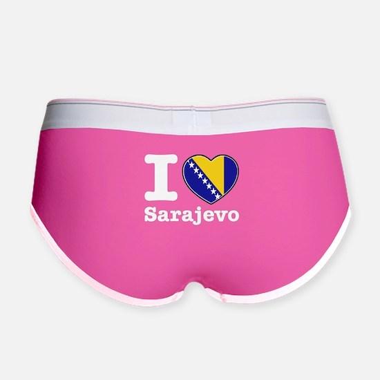 I love Sarajevo Women's Boy Brief