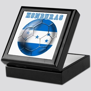 Honduras Soccer Football Keepsake Box