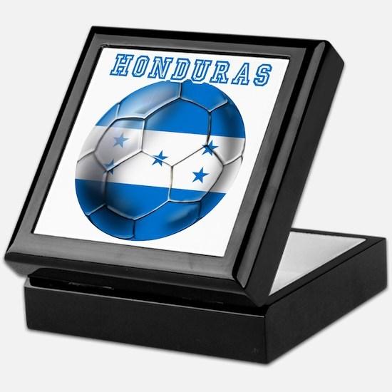 Honduras Soccer Football Keepsake Box