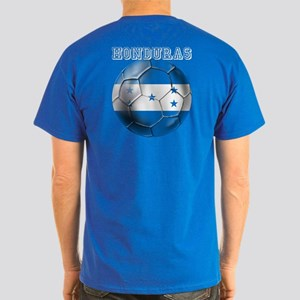 Honduras Soccer Football Dark T-Shirt