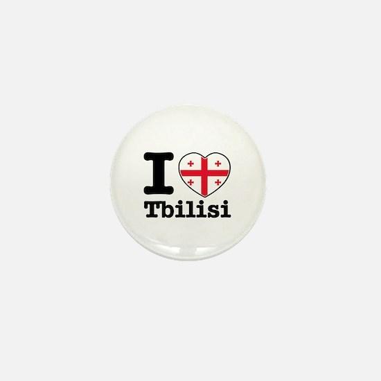 I love Tbilisi Mini Button