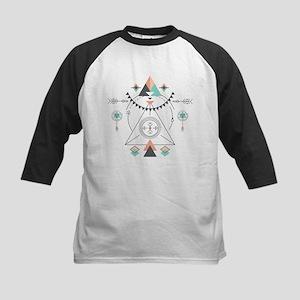 Modern Geometric Tribal Totem Desi Baseball Jersey
