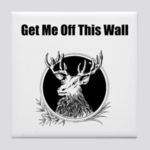 Get Me Off This Wall Tile Coaster