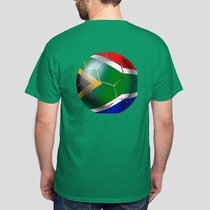 South Africa Soccer Dark T-Shirt