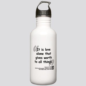 Saint Teresa Love Quote Stainless Water Bottle 1.0