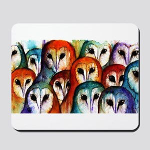 Owl Audience ~ Mousepad