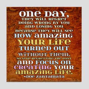 One Day Tile Coaster