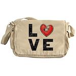 L <3 V E Messenger Bag