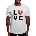 L <3 V E Light T-Shirt