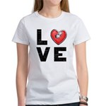 L <3 V E Women's T-Shirt