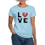 L <3 V E Women's Light T-Shirt