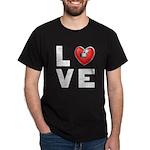 L <3 V E Dark T-Shirt