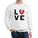 L <3 V E Sweatshirt