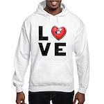 L <3 V E Hooded Sweatshirt