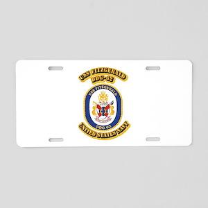 US - NAVY - USS Fitzgerald (DDG 62) Aluminum Licen