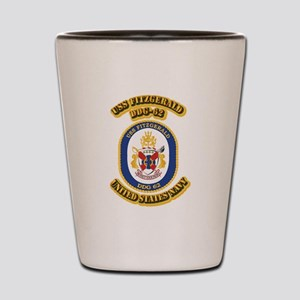 US - NAVY - USS Fitzgerald (DDG 62) Shot Glass