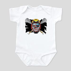 Pirate Lacrosse @ eShirtLabs Infant Creeper