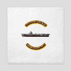 US - NAVY - USS Harry Truman Queen Duvet