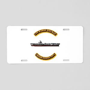 US - NAVY - USS Harry Truman Aluminum License Plat