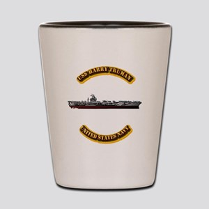 US - NAVY - USS Harry Truman Shot Glass