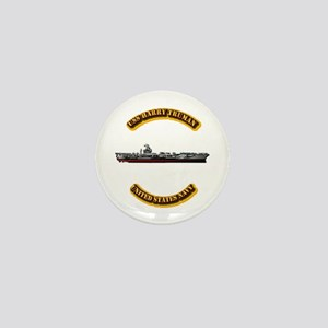 US - NAVY - USS Harry Truman Mini Button