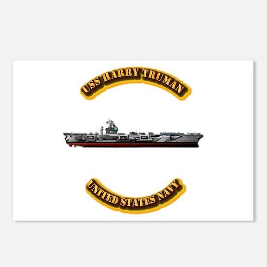 US - NAVY - USS Harry Truman Postcards (Package of