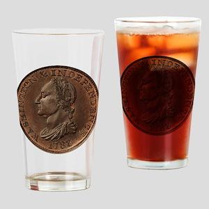 1783 Washington Drinking Glass