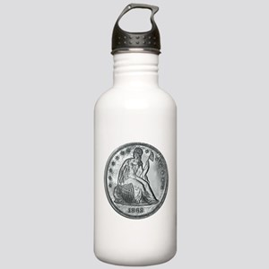 1862 Silver Coin Stainless Water Bottle 1.0L
