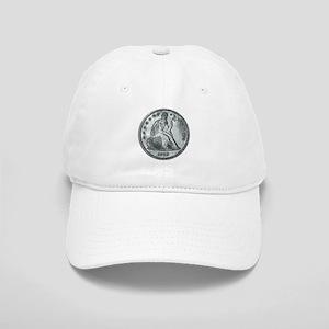 1862 Silver Coin Cap