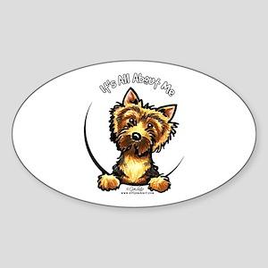 Norwich Terrier IAAM Sticker (Oval)